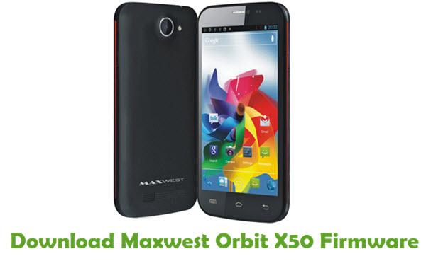 Maxwest Orbit X50 Stock ROM