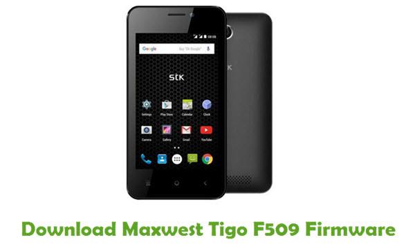 Maxwest Tigo F509 Stock ROM