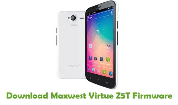 Maxwest Virtue Z5T Stock ROM
