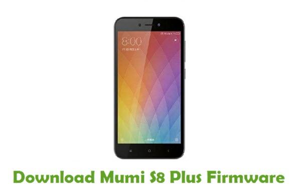 Mumi S8 Plus Stock ROM