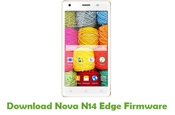 Download Nova N14 Edge Stock ROM