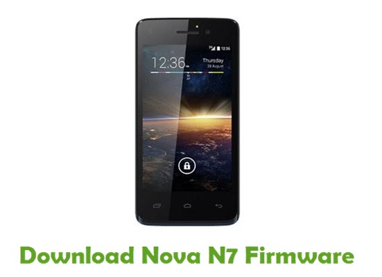 Download Nova N7 Stock ROM