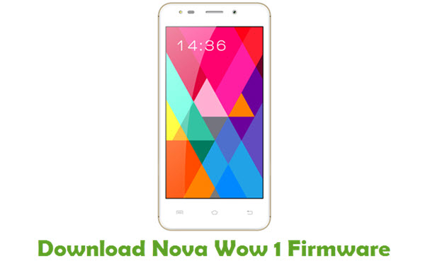 Download Nova Wow 1 Stock ROM