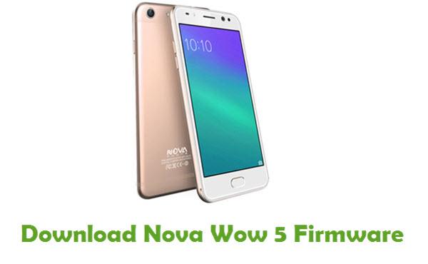 Download Nova Wow 5 Stock ROM