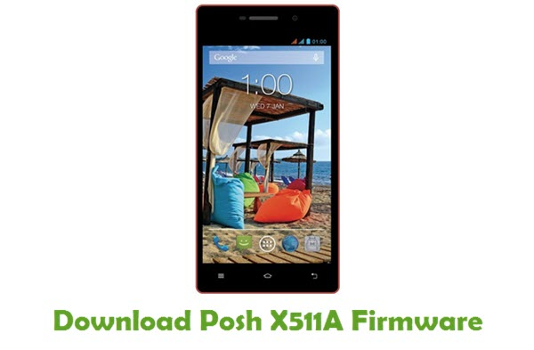 Posh X511A Stock ROM