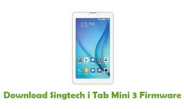 Singtech i Tab Mini 3 Stock ROM