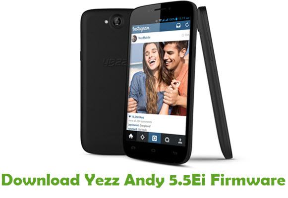 Download Yezz Andy 5.5Ei Stock ROM