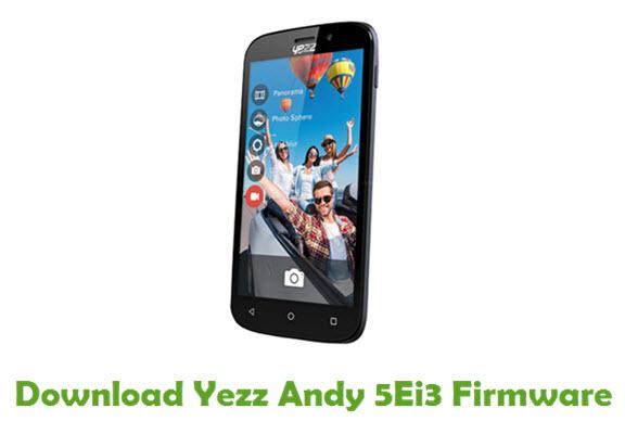 Download Yezz Andy 5Ei3 Stock ROM