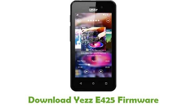Download Yezz E425 Stock ROM