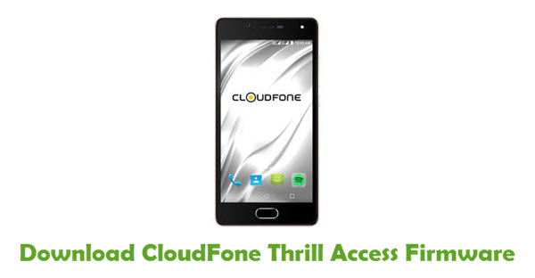 Download CloudFone Thrill Access Firmware