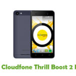 Cloudfone Thrill Boost 2 Firmware