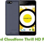 Cloudfone Thrill HD Firmware