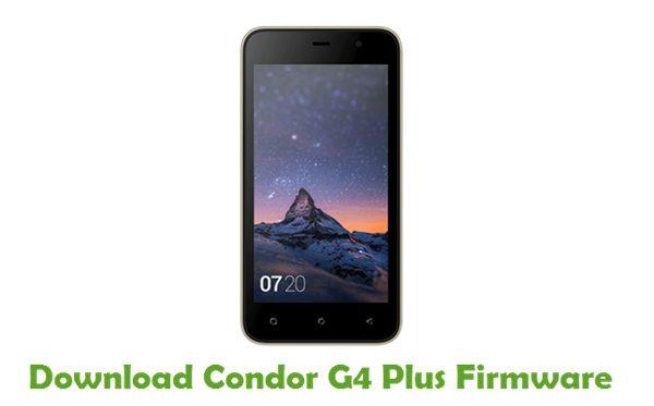 Condor G4 Plus Stock ROM