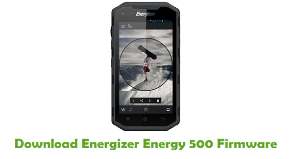 Download Energizer Energy 500 Firmware