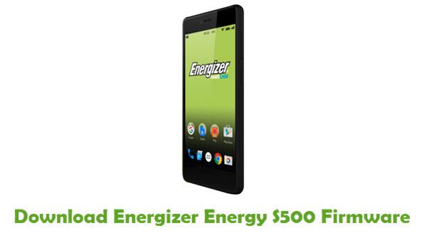 Energizer Energy S500 Stock ROM