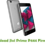 Jivi Prime P444 Firmware