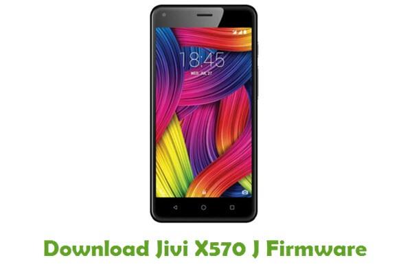 Jivi X570 J Stock ROM