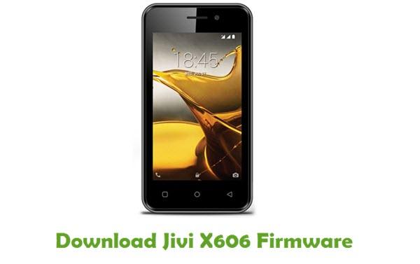 Jivi X606 Stock ROM