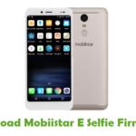 Mobiistar E Selfie Firmware