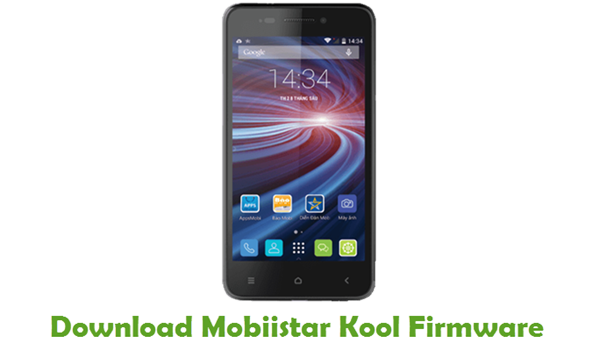Mobiistar Kool Stock ROM