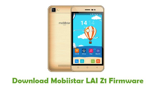 Mobiistar LAI Z1 Stock ROM