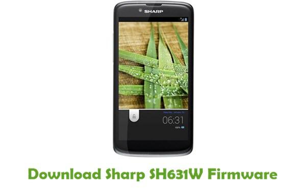 Sharp SH631W Stock ROM
