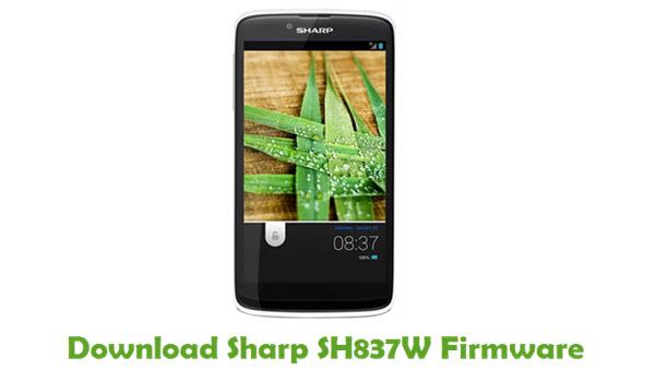 Sharp SH837W Stock ROM