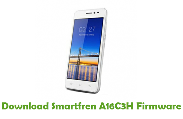 Download Smartfren A16C3H Firmware