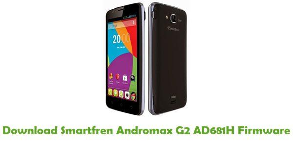 Download Smartfren Andromax G2 AD681H Firmware