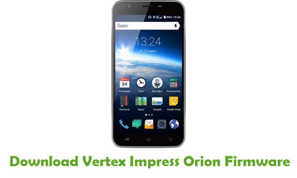 Vertex Impress Orion Stock ROM