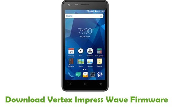 Vertex Impress Wave Stock ROM