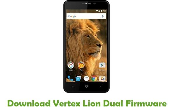 Vertex Lion Dual Stock ROM