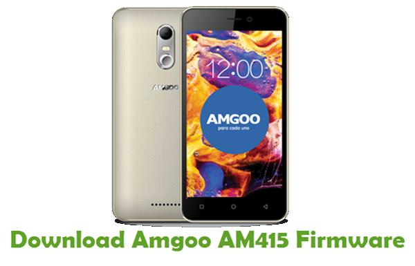 Download Amgoo AM415 Firmware