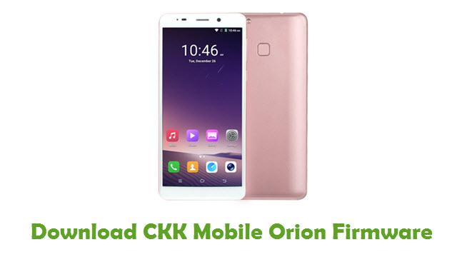 CKK Mobile Orion Stock ROM