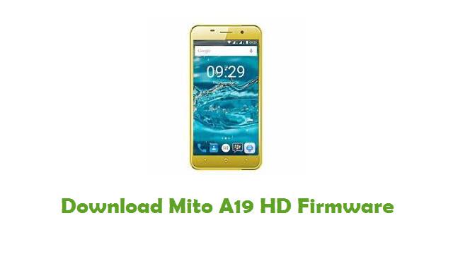 Mito A19 HD Stock ROM