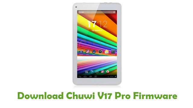 Chuwi V17 Pro Stock ROM