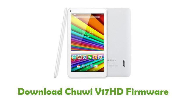 Chuwi V17HD Stock ROM
