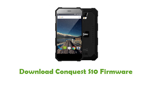 Download Conquest S10 Firmware