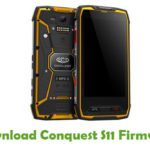 Conquest S11 Firmware