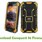 Conquest S6 Firmware