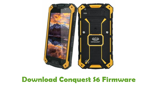 Conquest S6 Stock ROM