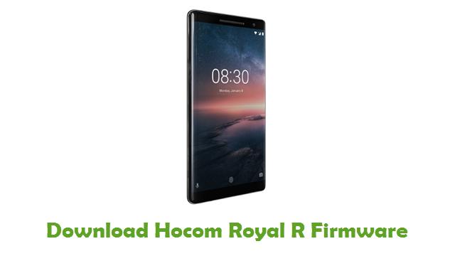 Hocom Royal R Stock ROM