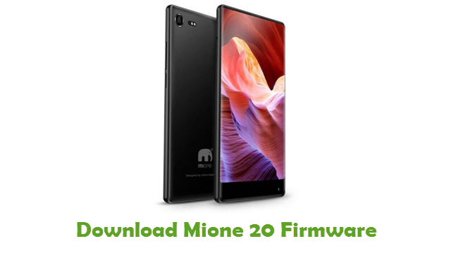Mione 20 Stock ROM