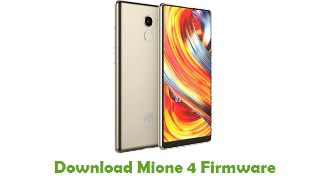 Mione 4 Stock ROM