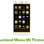 Download Mione X Firmware - Android Stock ROM Files