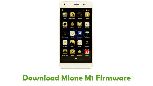 Mione M1 Stock ROM