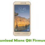 Download Mione M8 Firmware - Android Stock ROM Files