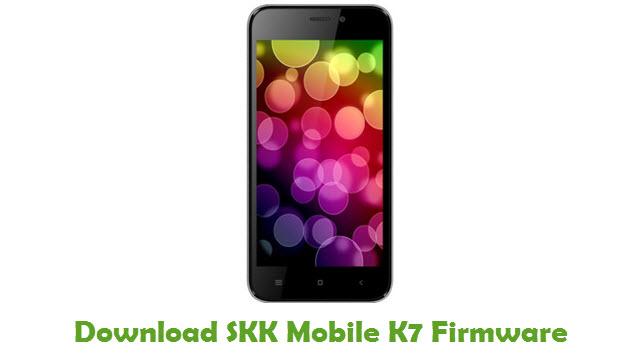 SKK Mobile K7 Stock ROM