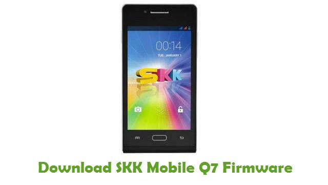 SKK Mobile Q7 Stock ROM