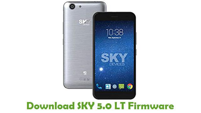 Download SKY 5.0 LT Stock ROM